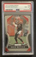 2019 Panini Prizm Football #88 Baker Mayfield PSA 8 NM-MT Cleveland Browns