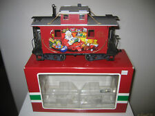 LGB 46658 Christmas Santa Caboose with Original Packaging - G Scale Trains