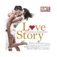 SANTANA/KATY PERRY/ROBBIE WILLIAMS/TINA TURNER/+ -  LOVE STORY  CD POP NEUF