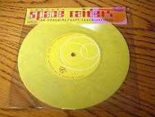 "SPACE RAIDERS - MR SUNSHINE / SOFT TOUCH     7"" YELLOW VINYL PS"