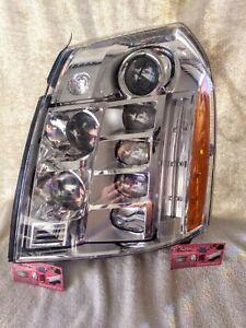 2007-2014 Cadillac Escalade Platinum Headlamp Lh Side OEM