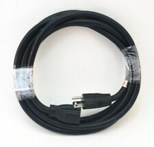 10' 12 Gauge Black Indoor/Outdoor Extension Cord