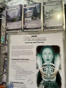 Android Netrunner Creation And Control Deluxe  Expansion VGC