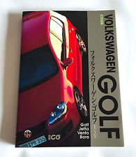 VOLKSWAGEN GOLF I ~ V Car Graphic Special JAPAN PHOTO & TEXT BOOK 2005 Jetta