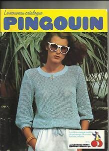 LIVRE CATALOGUE TRICOT FEMME HOMME ENFANT PINGOUIN N° 5