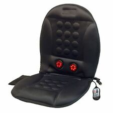 Wagan IN9989 12V Infra-Heat Massage Magnetic Cushion with AC Adapter 10 magnets
