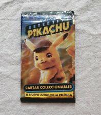 Pokemon Detective Pikachu Trading Card Pack Argentina 2019