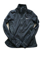nike shield running jacket Womens Medium Black Reflective