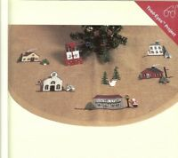 CHRISTMAS VILLAGE TREE SKIRT(TABLETOP TREE) - X  STITCH PATTERN ONLY  HM - EYUW