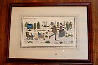 Cold Feet, Warm Hearts by Catherine Gruenewald Print Signed and Numbered 38/750