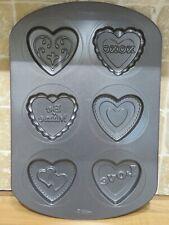 New Wilton hearts cookie baking tray 42cm x 28.5cm