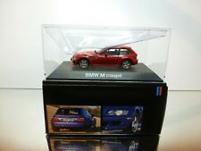 SCHUCO 422195 BMW Z3 M COUPE - RED 1:43 -  EXCELLENT IN DEALER BOX