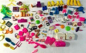 1980s Barbie Shoes Accessories Lot 100+ pcs Caboodle Doctors Bag ++