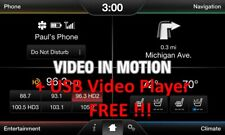 Ford & Lincoln MyTouch Video In Motion Activation + USB Video Player FREE