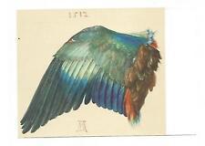 """POSTKARTE / Albrecht Dürer / """" Flügel der Nebelkrähe """" / Ganzsache 1971"""