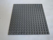 LEGO 1 x Platte 91405 neu dunkelgrau 16x16 beidseitig bebaubar