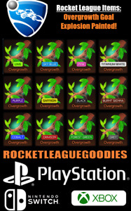 Rocket League Items - Overgrowth Goal Explosion - PS4 - PS5 - XBOX ONE - Switch