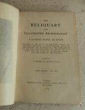 Vintage Buch 1906 die Reliquie Illustrierte Archäologe Vol XII Antiquitäten
