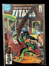 TALES OF THE TEEN TITANS #52 DC COMICS 1985 NM+ NEW TEEN TITANS