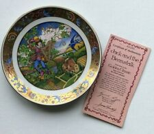 """The Golden Classic Plate Collection & 00004000 #034;Jack & the Beanstalk"""" by Carol Lawson 1986"""