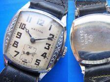 Seiko NATION Tonneau Dead Stock Rare Watch Collection Item Pre-war Antique