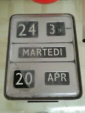 Solari Dator 5 flip clock per restauro o ricambi 1960s made in Italy