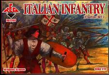 Red Box Models 1/72 ITALIAN INFANTRY 16th Century Figure Set #2