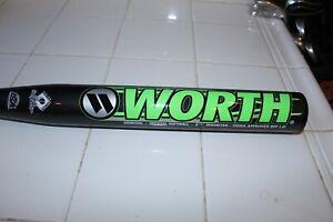 """Worth Wicked WWKDXL Softball Bat Wicked 34"""" 27 oz. SSUSA BPF 1.21"""