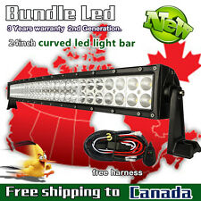 24 inch LED Light Bar Work Curved Off Road Truck Jeep Ford SUV ATV UTE 4X4 20/22