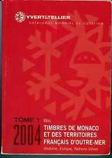 2004 YVERT ET TELLIER TIMBRES DE MONACO TOME 1 BIS