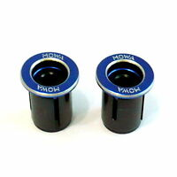 gobike88 MOWA Bar End Caps/Plugs, 25g, Blue, A70