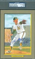 Catfish Hunter Signed Psadna Perez Steele Great Moments Autograph