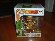 FUNKO POP! GOLD SHENRON #265~ HOT TOPIC EXCLUSIVE~ NEW~ MINT~ DRAGONBALL Z