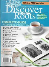 Discover Your Roots Magazine Complete Family Tree Guide Europe Civil War Royalty