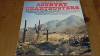 Various ‎– The Very Best Country Chartbusters Vinyl LP Compilation 33rpm SHM3189