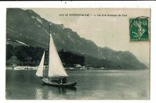 CPA-Carte Postale-FRANCE-Le Bourget-Le Lac  et la Montagne du  chat-1923- VM1396