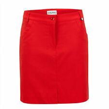 NWT Golfino Women's Serena Stretch Golf Skort 3368125 367 Red Sz 4 6 8 10 12 NEW