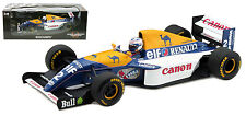 Minichamps Williams fw15c #2 1993 CAMPIONE DEL MONDO-Alain Prost Scala 1/18