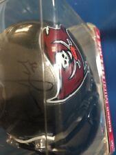 Davin Joseph Autographed Tampa Bay Buccaneers Mini Helmet.
