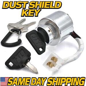 Ignition Key Switch replaces Kubota 66101-55200 BX1800 BX22 BX2230 BX23 w/4 Keys