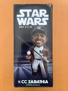 CC Sabathia New York Yankees Bobblehead NIB - Star Wars Day 5/4/2019