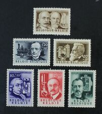 CKStamps: Belgium Stamps Collection Scott#B573-B578 Mint H OG