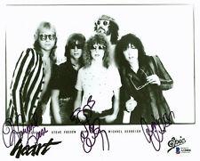 Heart (3)  Nancy Wilson, Ann Wilson & Leese Signed 8x10 Photo  BAS #A10806