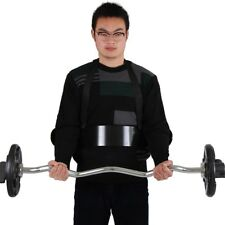 Black Gym Biceps Isolator Blaster Barbell Bar Curl Weight Lifting Arm Well