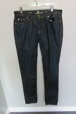 SEVEN FOR ALL MANKIND  JEANS SIZE 31 BLUE ROXANNE IN GREAT CONDITION NO ISSUES