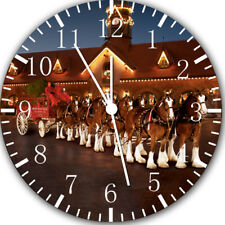 Clydesdale Horse Frameless Borderless Wall Clock Nice For Gifts or Decor Y25