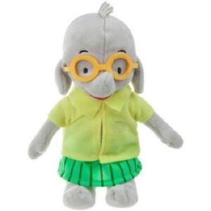 "Ella The Elephant Tiki Elephant Plush Soft Stuffed Doll Toy 9"" tall"