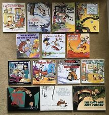 Lot of 14 Calvin and Hobbes Books by Bill Watterson. Yukon Ho!