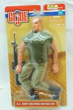 GI JOE ACTION FIGURE 12 INCH US ARMY WEAPONS INSTRUCTOR HASBRO 2000 MIP MOC