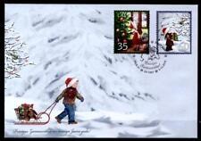 Kinder und Weihnachten. FDC.  Lettland 2010